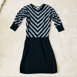 LOFT 3/4 sleeve sweater dress